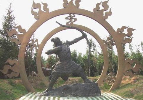 китайский миф хоу и