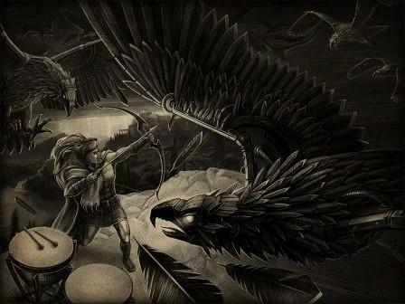 стимфалийские птицы третий подвиг