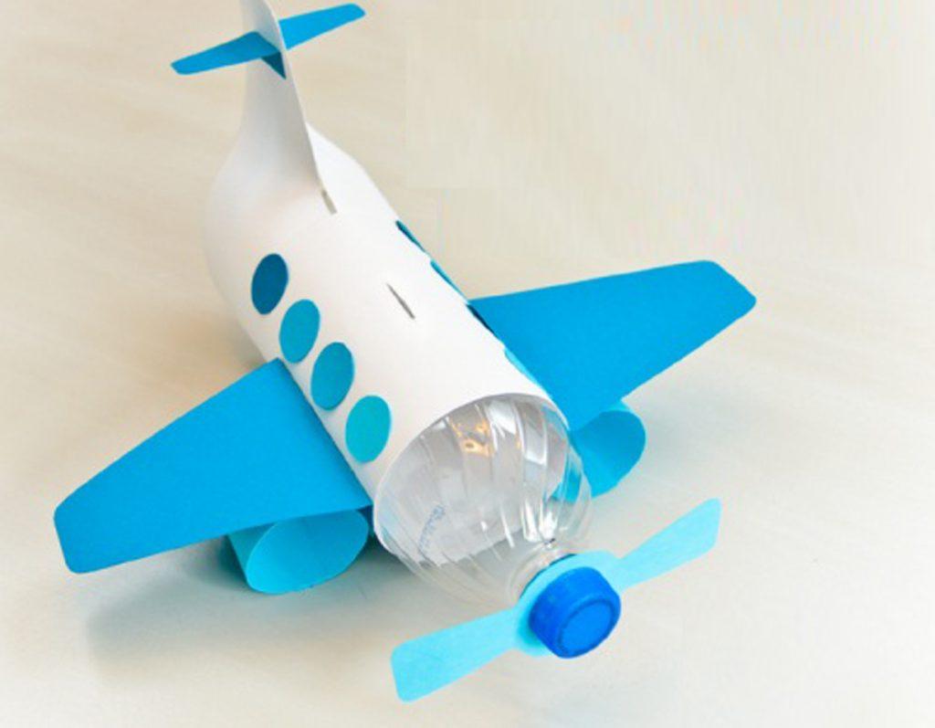 Самолет из бутылки