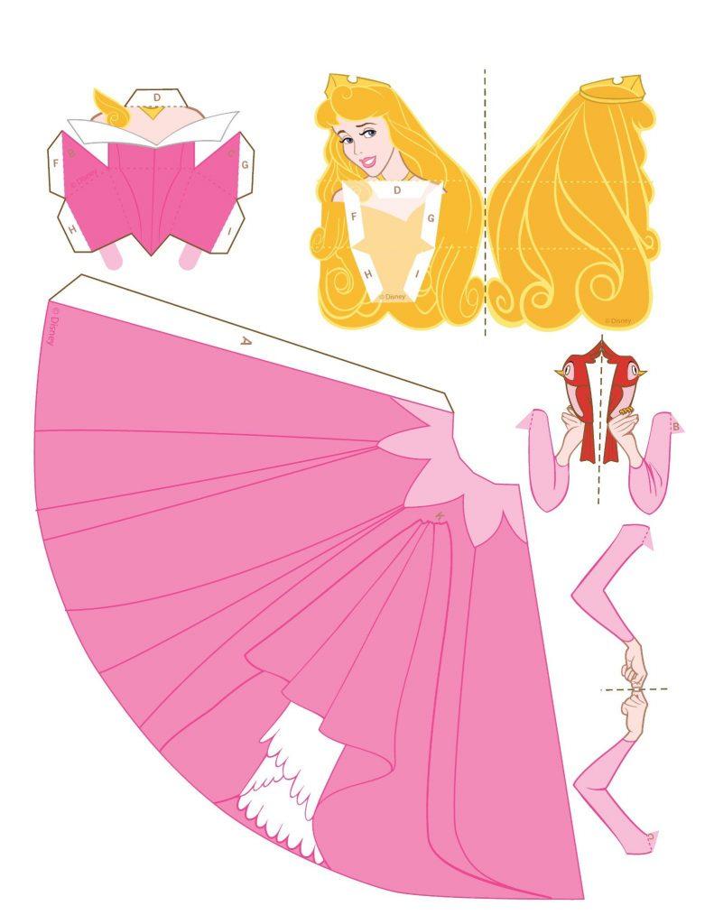 Бумажные куклы с одеждой для девочек
