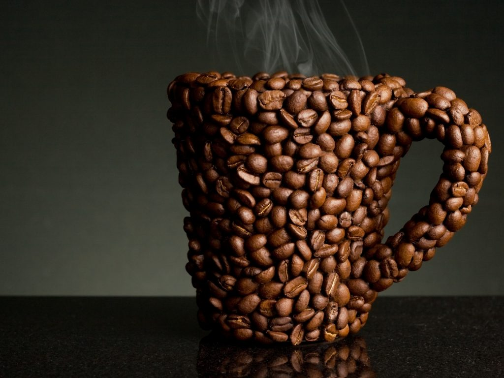 Чашка из кофе