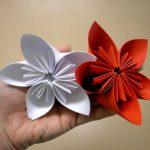 Цветы поделка из бумаги