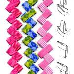 Схема плетения бумаги