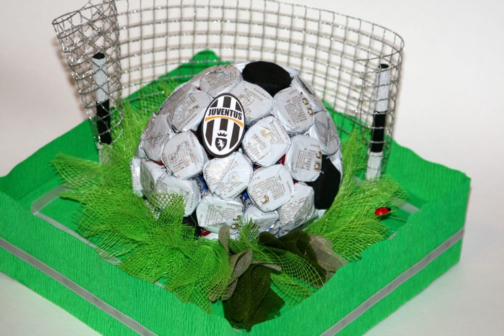 Мяч футбольный поделка