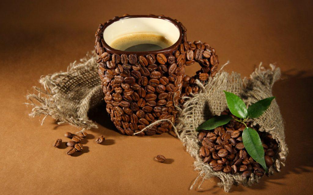 Оригинальный подарок из кофе