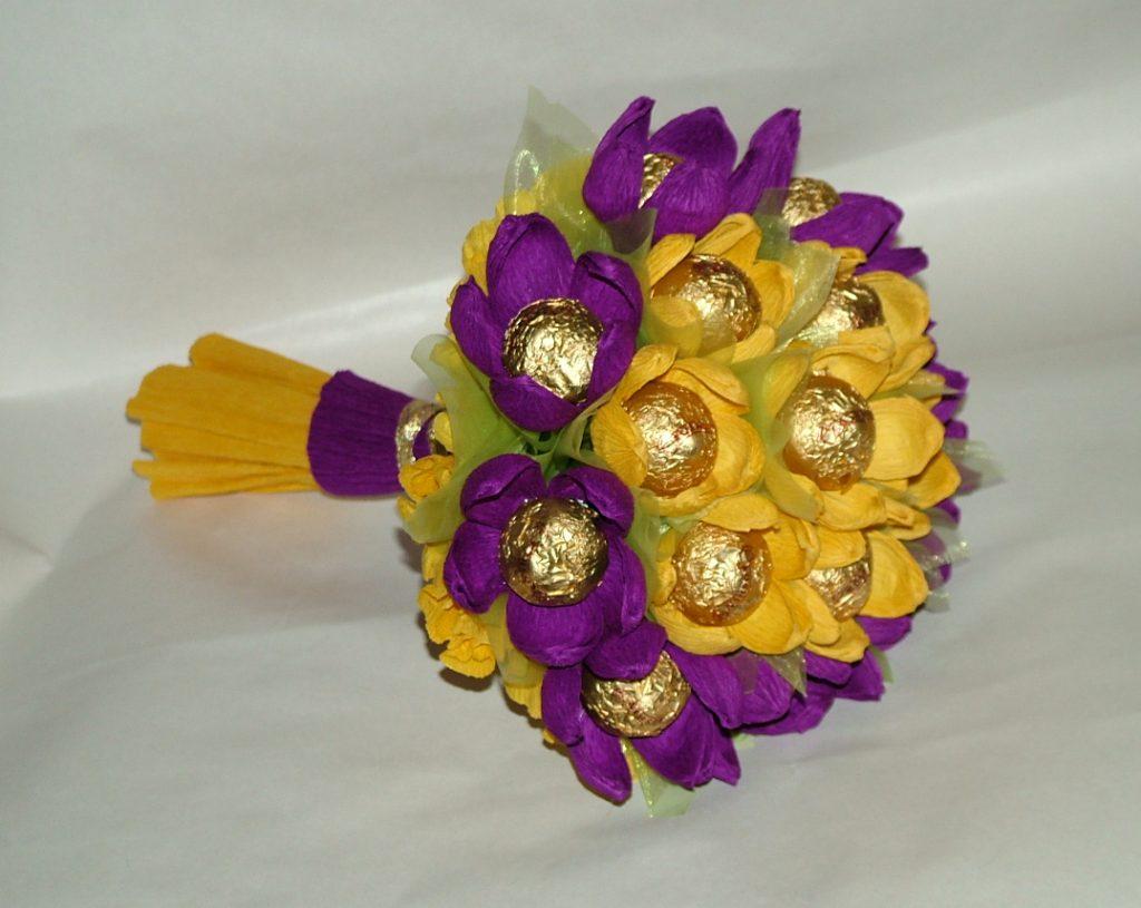 Шоколадный вкусный букет
