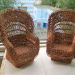 Плетенные кресла
