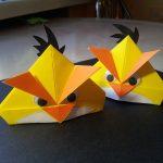 Птицы для мальчиков из бумаги