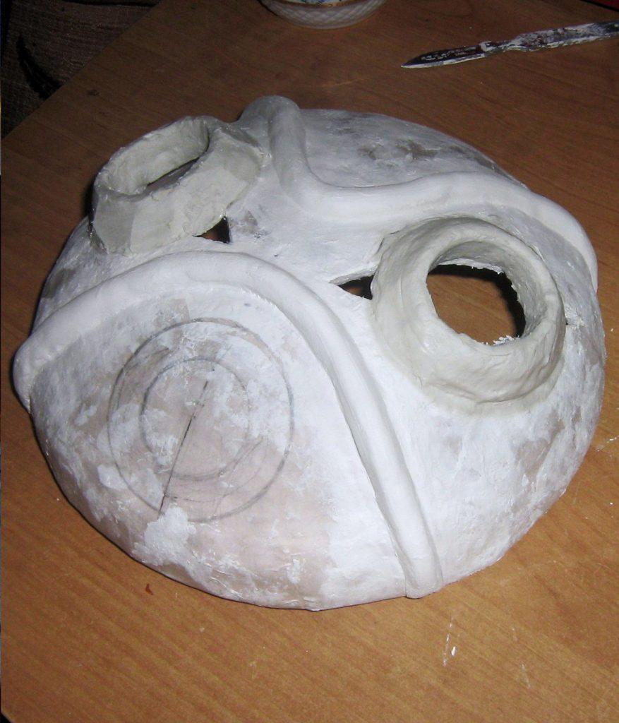 Процесс папье маше
