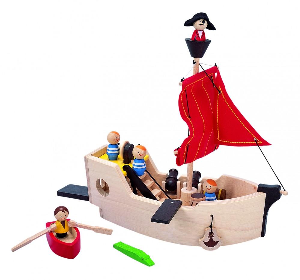 Поделка пиратский корабль