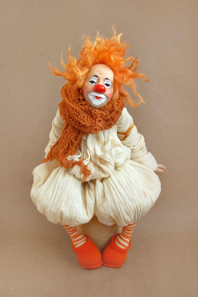 Клоун из папье маше