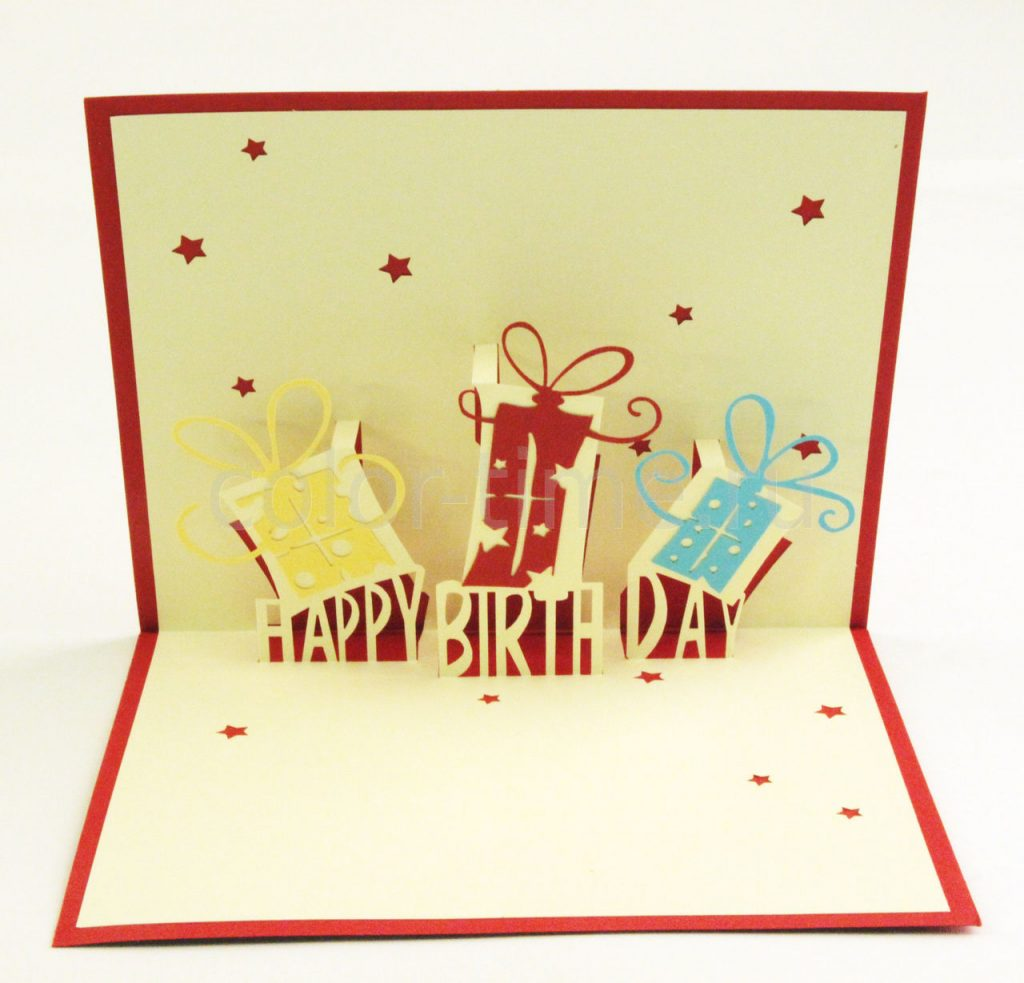объемные открытки с днем рождения своим руками достоинством