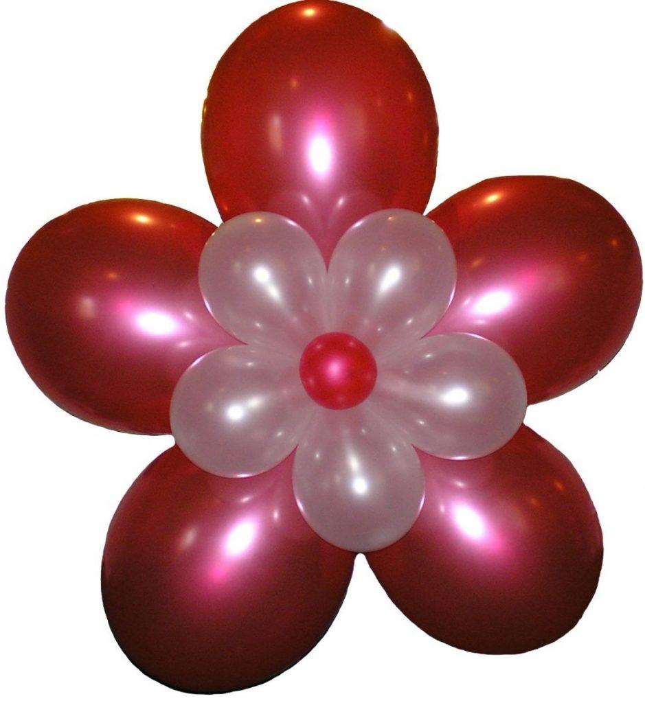 Фото цветка из шаров своими руками