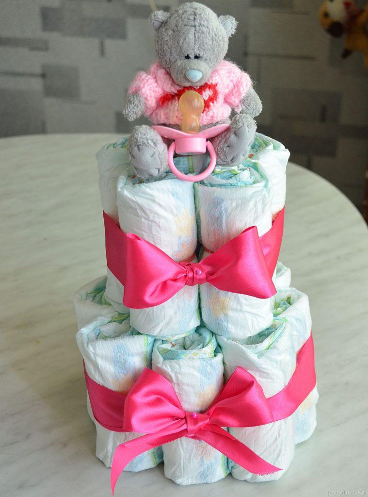 Памперсы торт