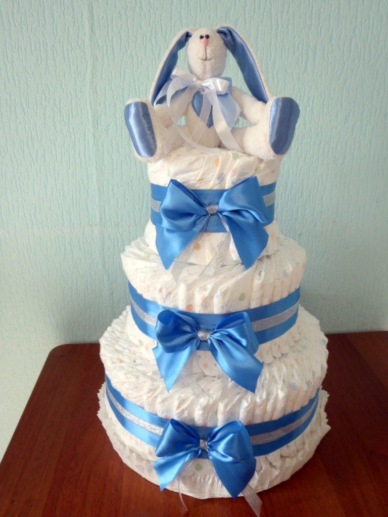 Памперсы торт своими руками