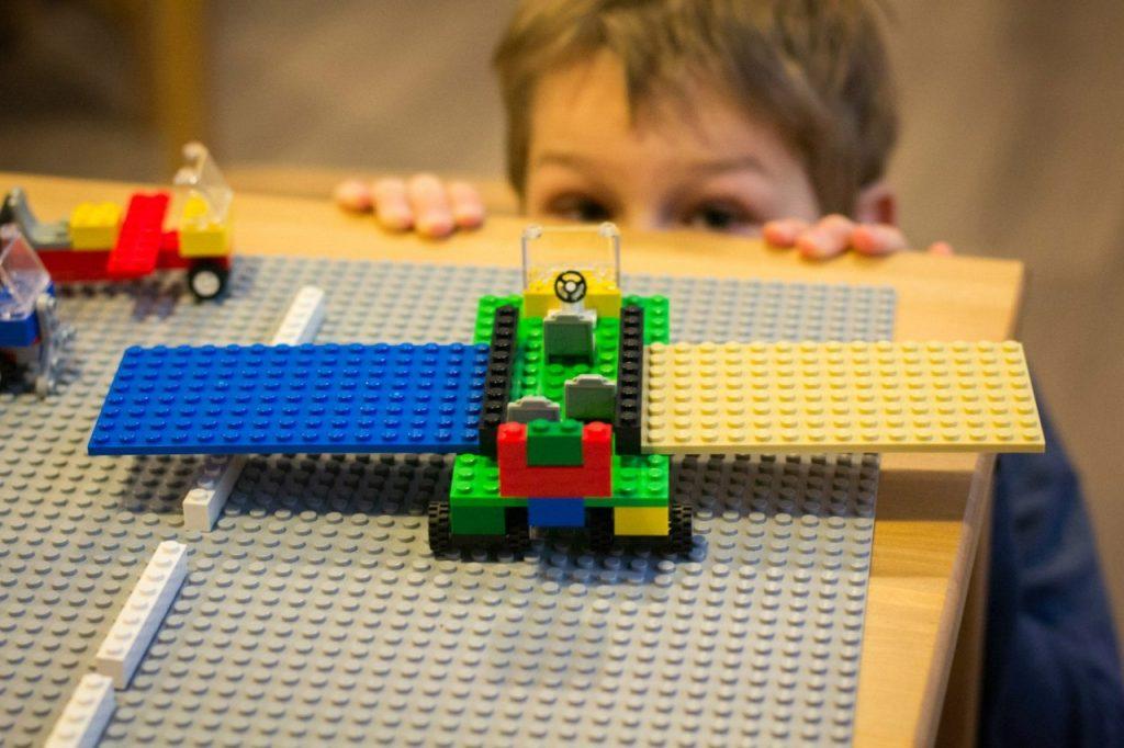Лего самолет своими руками