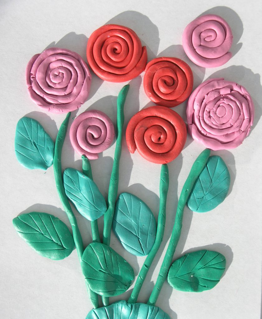 Картина роз