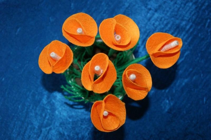 Красивые цветы своими руками