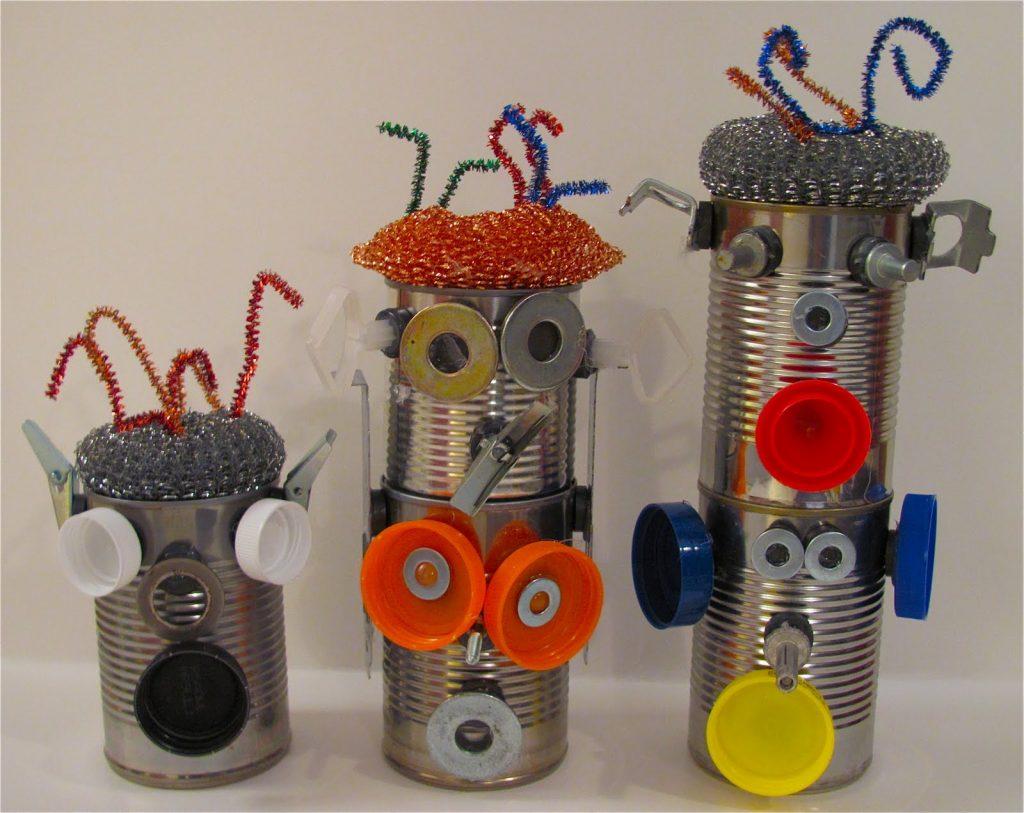 Роботы из консервной банки