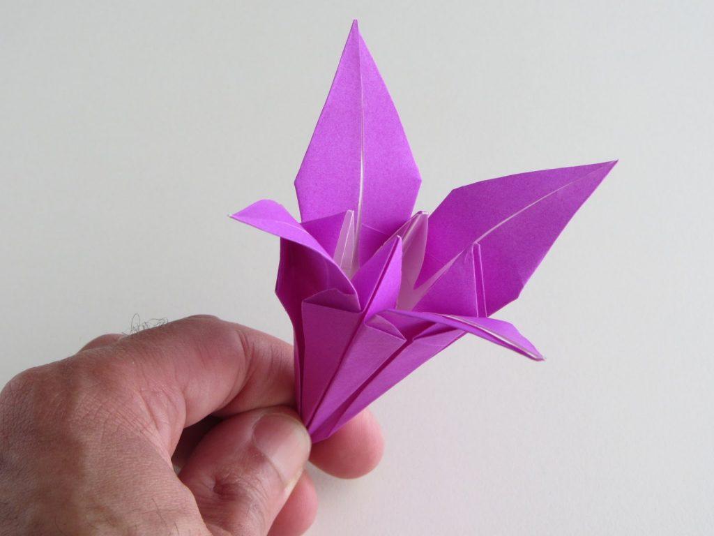 Оригами поделки пример