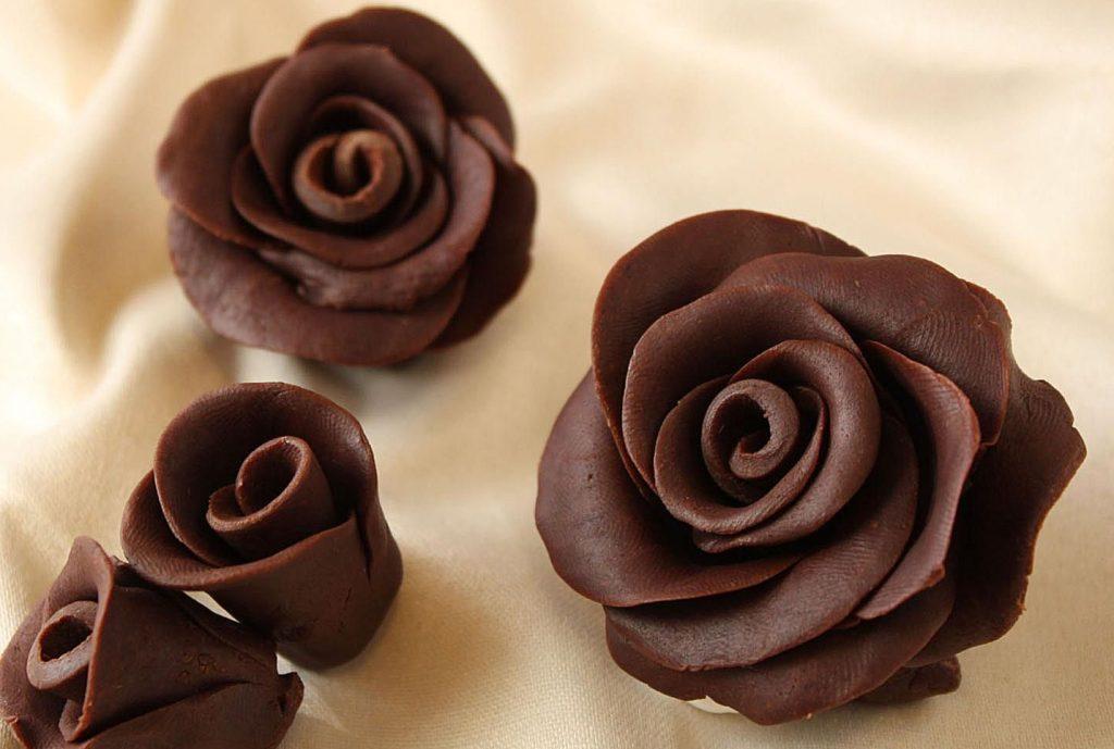 Лепка роз