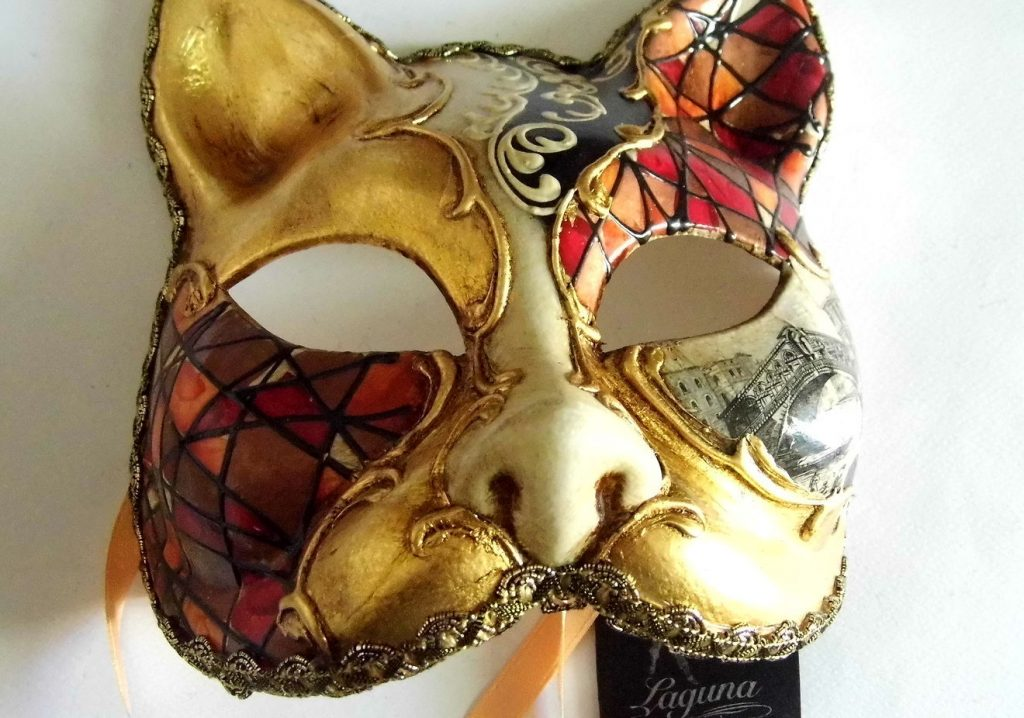 Пример папье маше маски