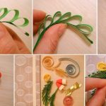 Как сделать цветы из квиллинга