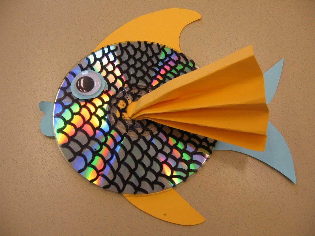 Рыбка из диска
