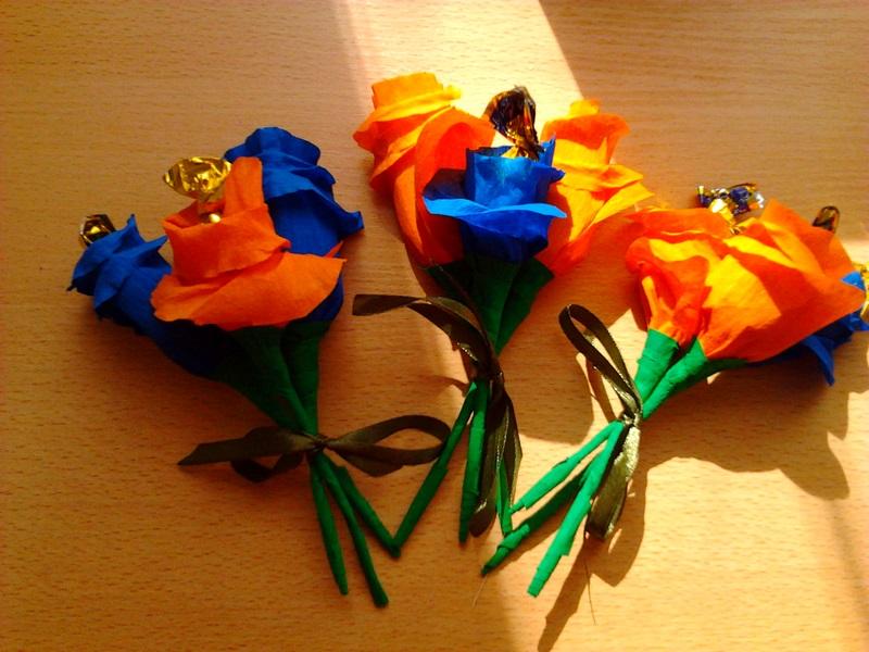 Цветы из проволки