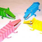 Крокодилы из бумаги