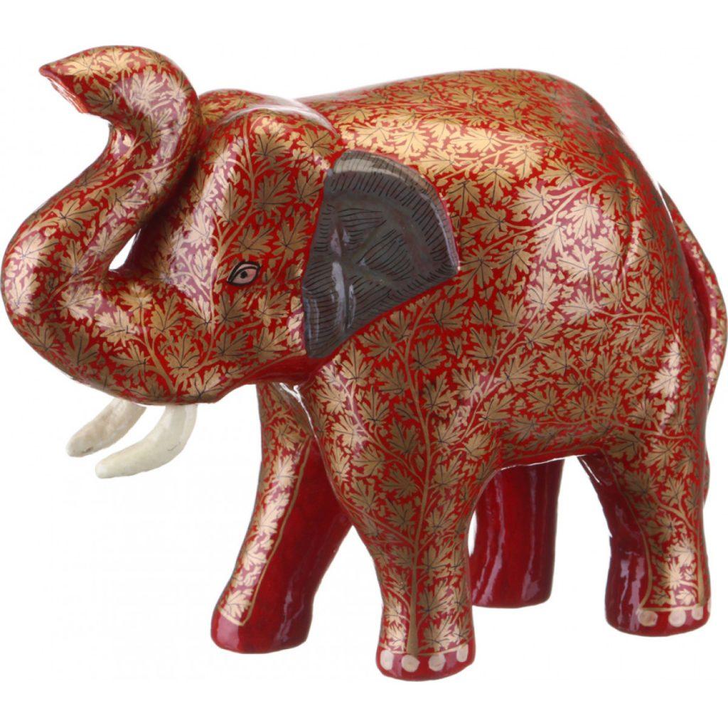Слоник из папье маше