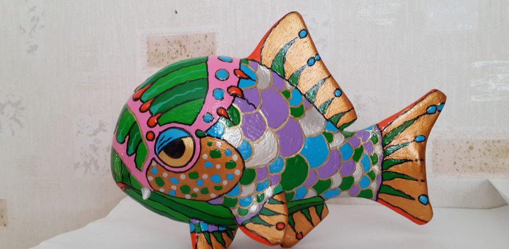 Рыбка объемная