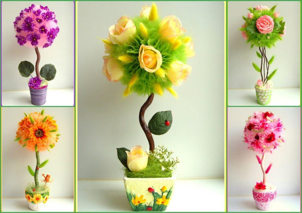Напольные цветы дома 32