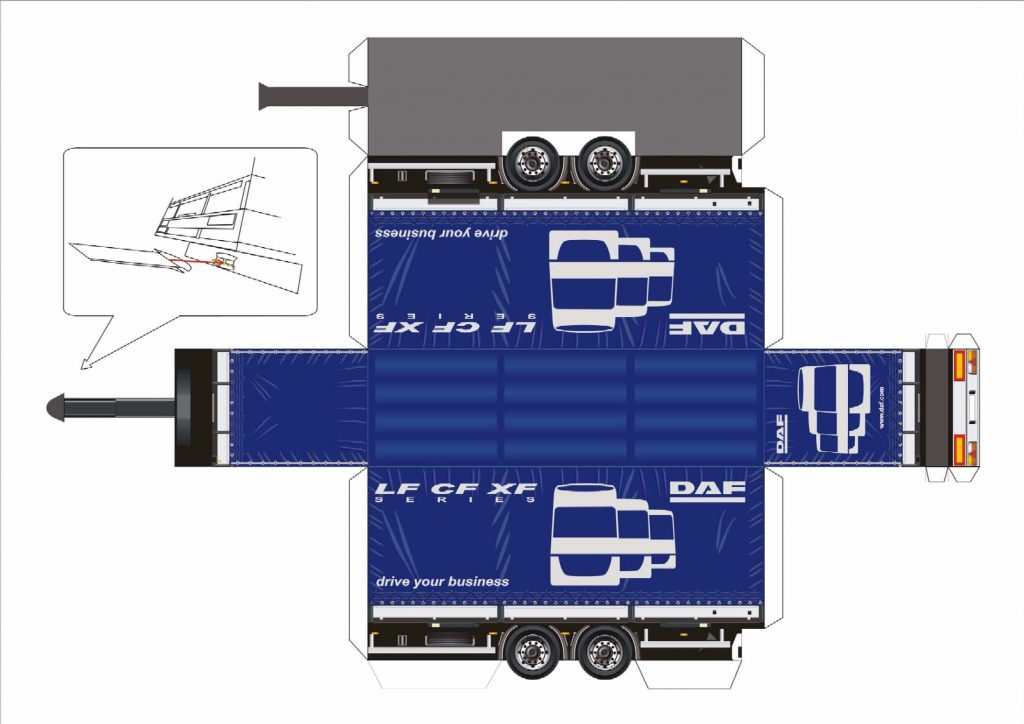 Бумажные модели DAF