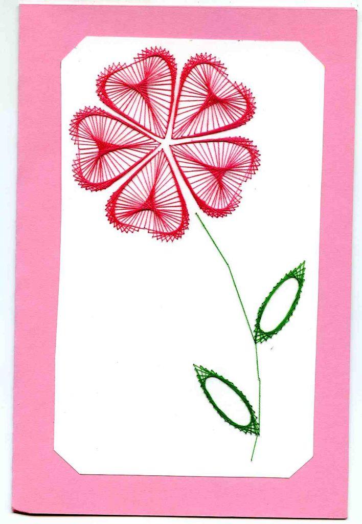 Цветок на 9 мая