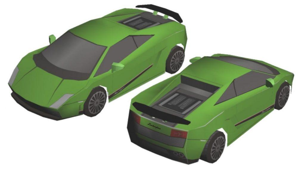 Модели из бумаги фото