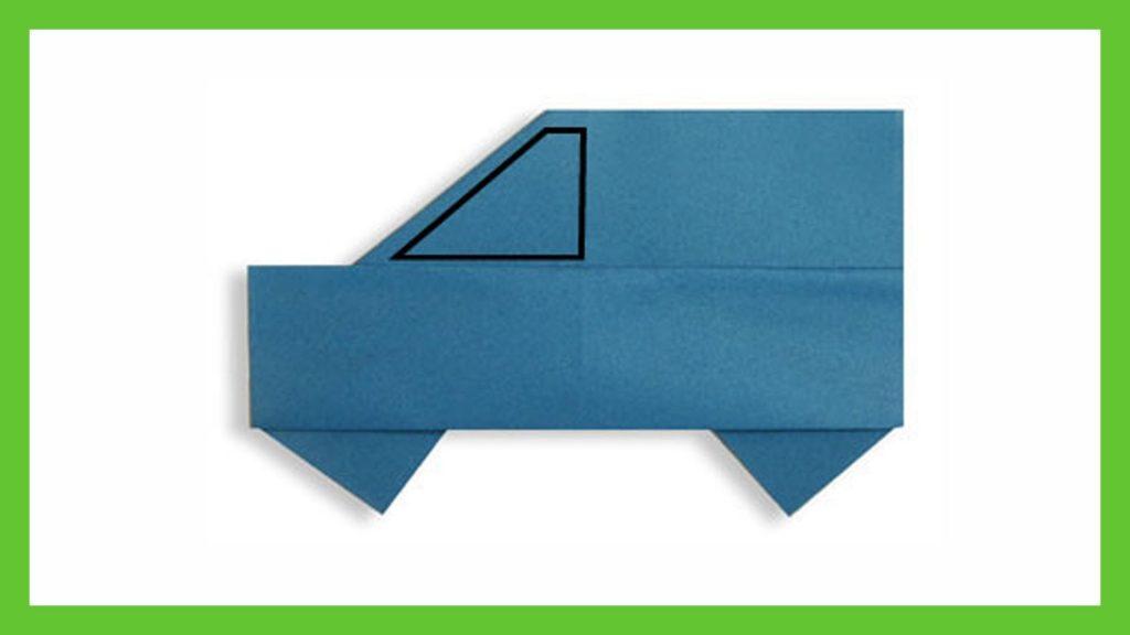 Origami mashina