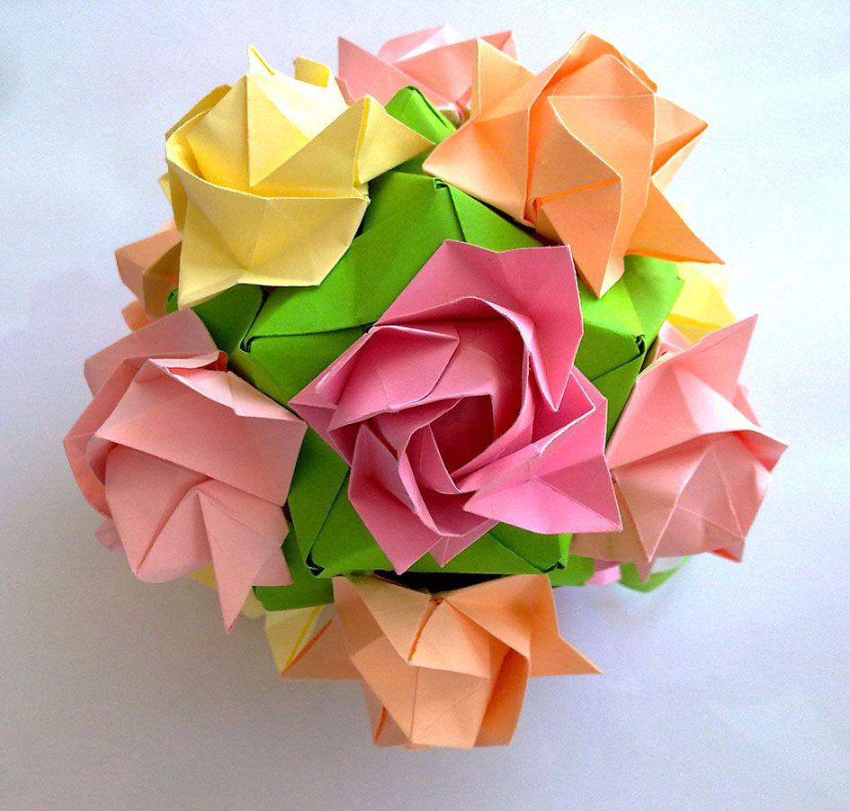 Поделки из бумаги и декоративное оригами