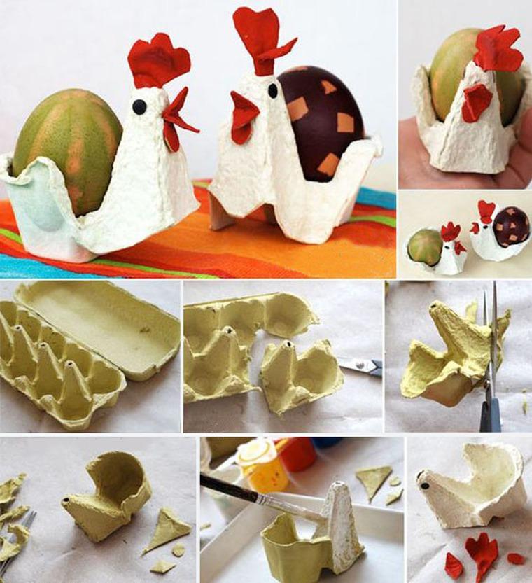 Изготовление кассеты из под яиц