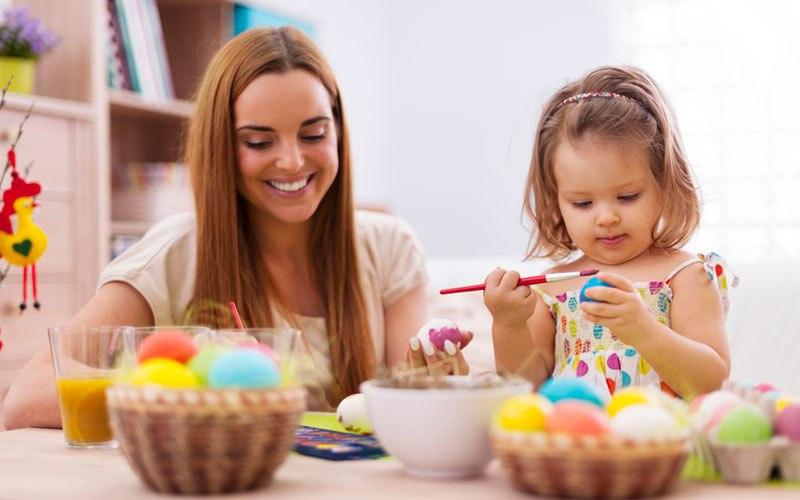 Изготовление поделок к Пасхе с детьми