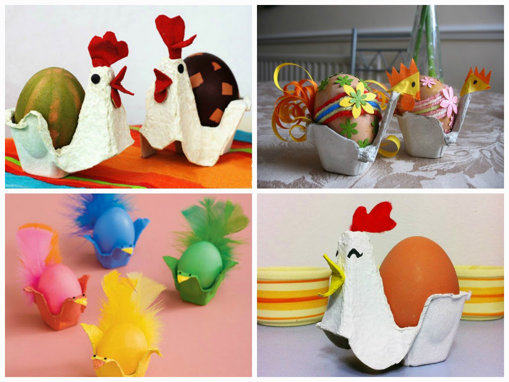 Подставки из под каассет для яиц