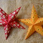 Стильная поделка звезды