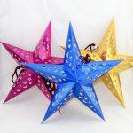 Объем звезд оригами