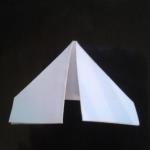 Следом заверните края к середине. | Оригинал: http://svoimi-rukami-club.ru/модульное-оригами-лебедь-из-модулей/