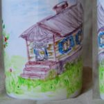 Рисунок на чашке