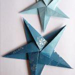 Звезда в технике оригами