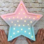 Звезда с подсветкой