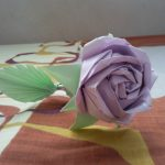 Розы из бумаги поделка