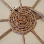 Шаг 5 Плетение круга из 8 лучиков