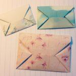 Техника оригами конверта